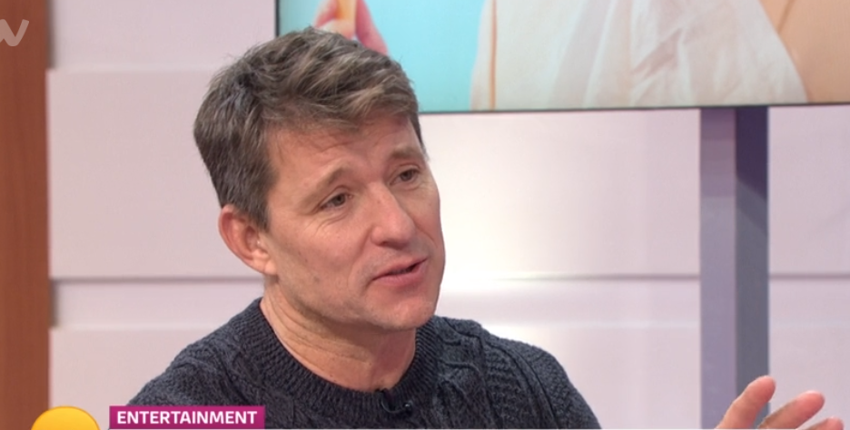 Good Morning Britain's Ben Shephard 'FLASHES' guest while wearing a kilt