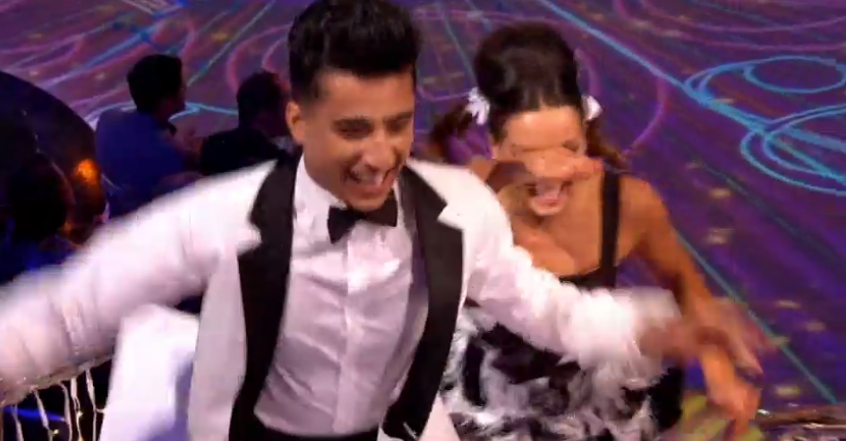 Strictly Come Dancing: Karim Zeroual scores the series' first 40