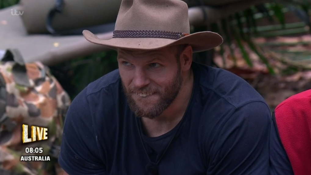 I'm A Celebrity: James Haskell cries as he is eliminated