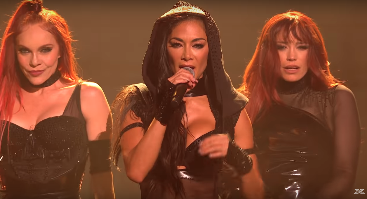 X Factor: Celebrity: Viewers slam Nicole Scherzinger's racy reunion outfit as 'inappropriate'