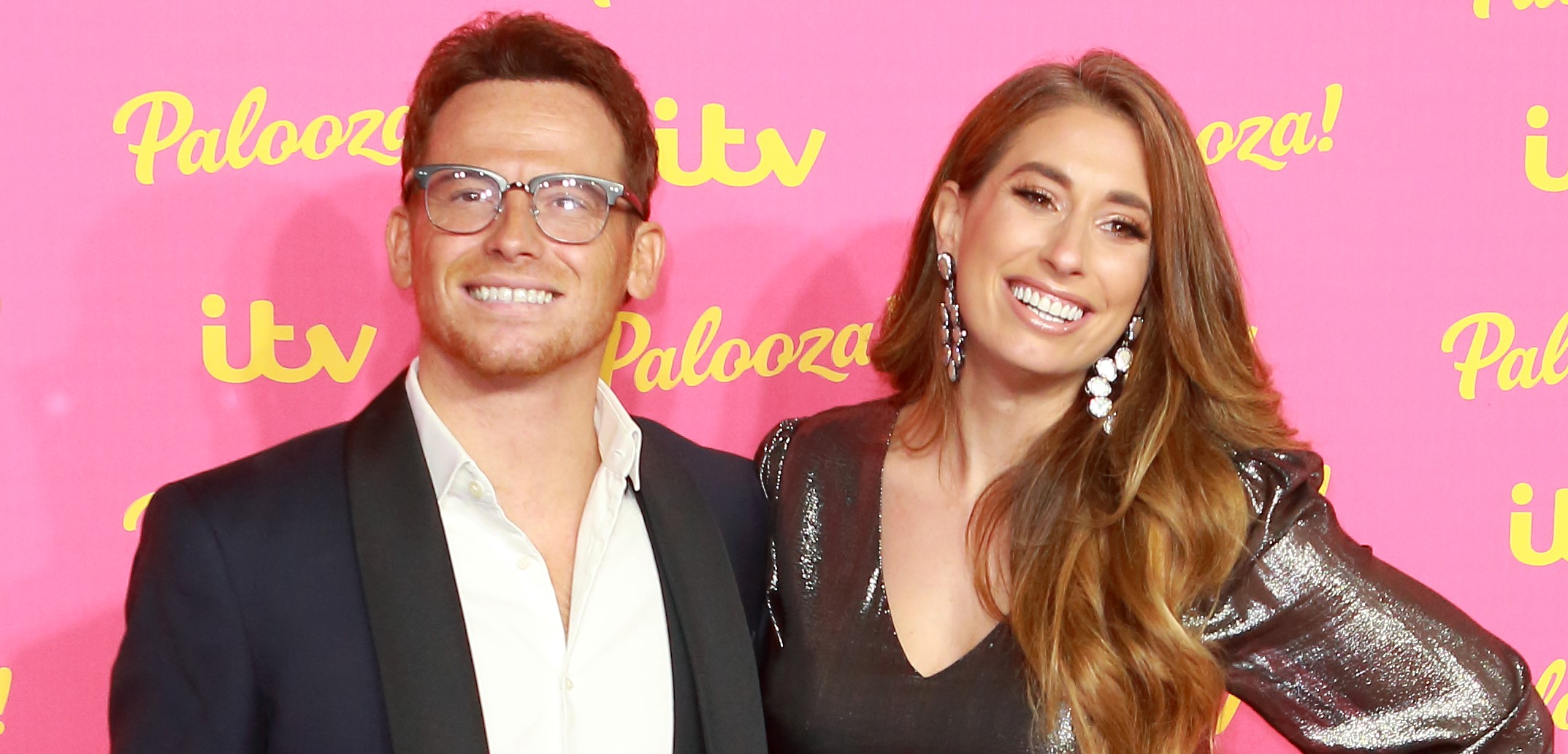 Stacey Solomon unveils extravagant Christmas decorations in family photos with Joe Swash and Rex