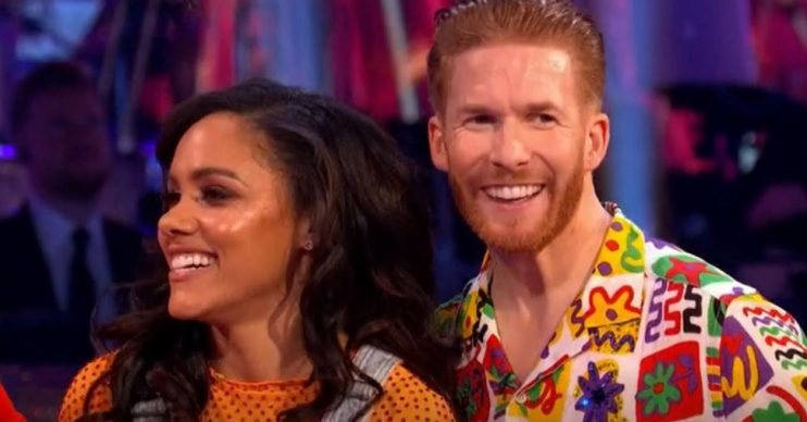 Strictly Come Dancing - Alex Scott and Neil Jones