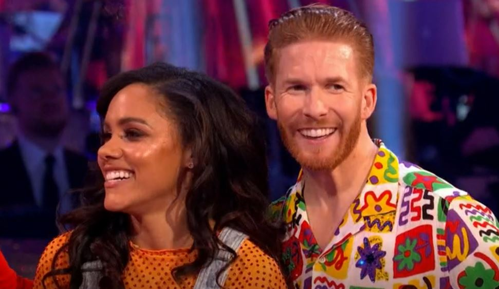 Strictly Come Dancing viewers convinced Alex Scott and Neil Jones are in love