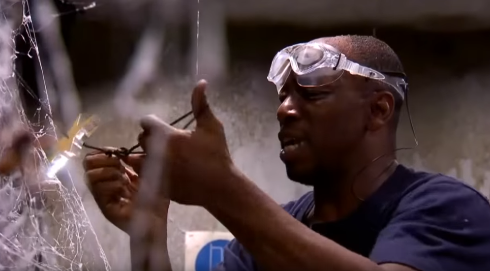 Ian Wright on I'm A Celebrity