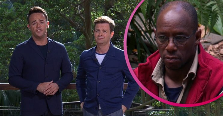 Ant and Dec/Ian Wright I'm A Celebrity