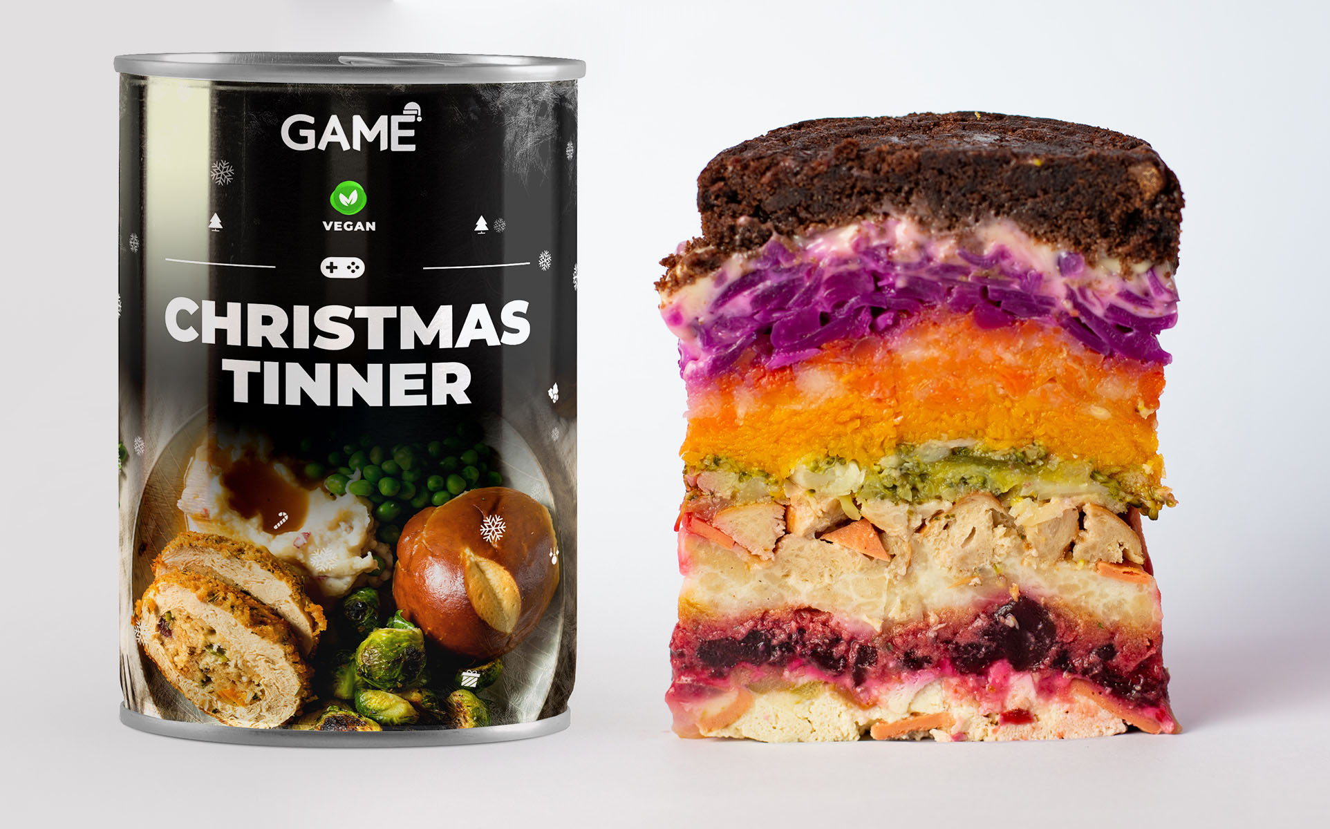 The Christmas Tinner is back but this time with vegan and vegetarian options