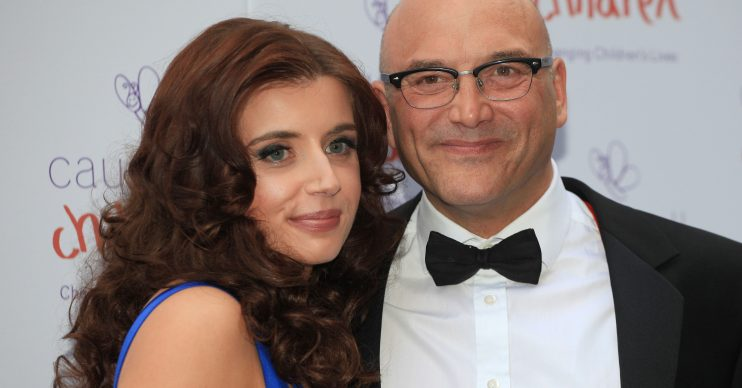 Anne-Marie Wallace and Gregg Wallace