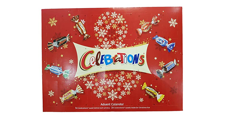 Celebrations advent calendar angers shoppers as it kicks off with a Bounty on first TWO DAYS