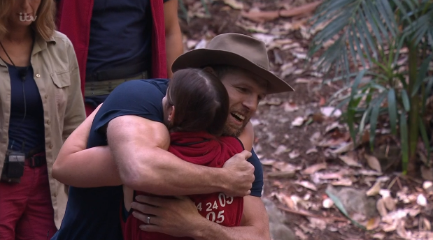 Andrew Maxwell voted off I'm a Celebrity...Get Me Out of Here!