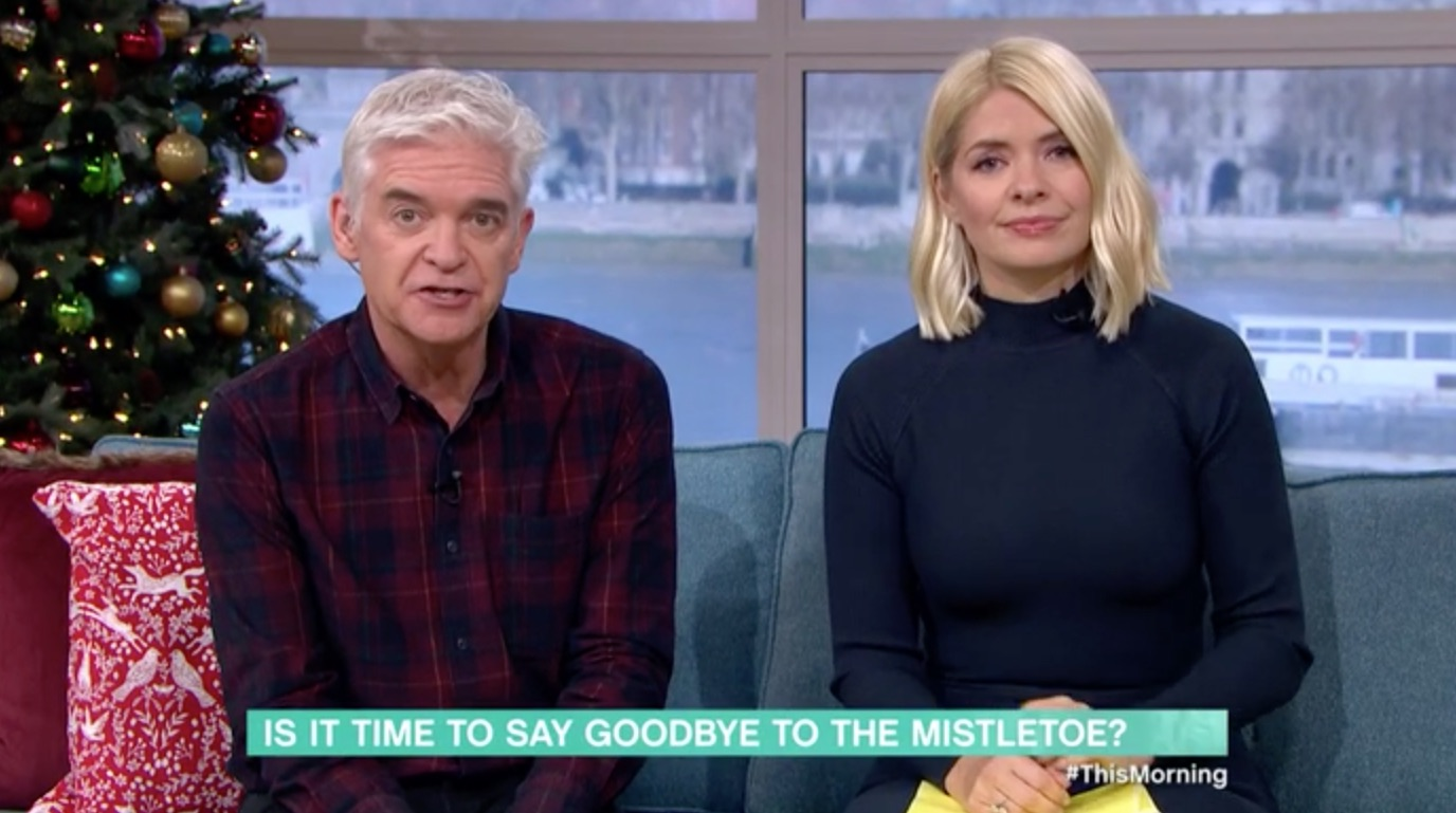 This Morning viewers fuming after guest wants mistletoe to be banned