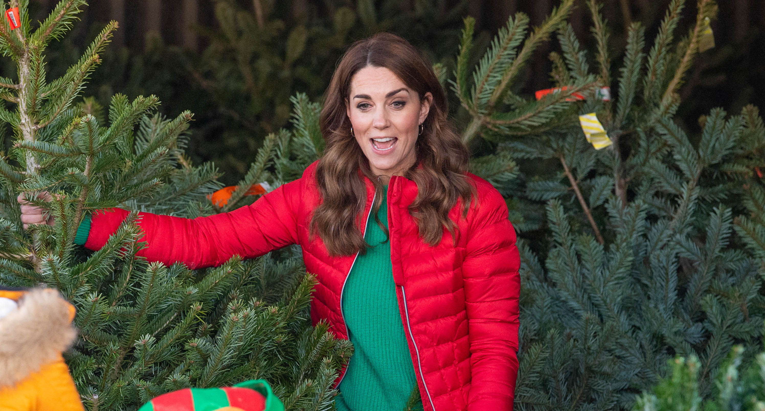 Duchess of Cambridge helps kids to write Father Christmas letters on visit to farm