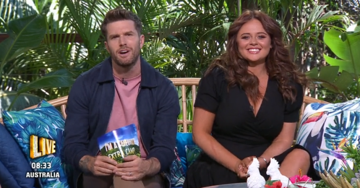 Joel Dommett and Emily Atack on I'm A Celebrity