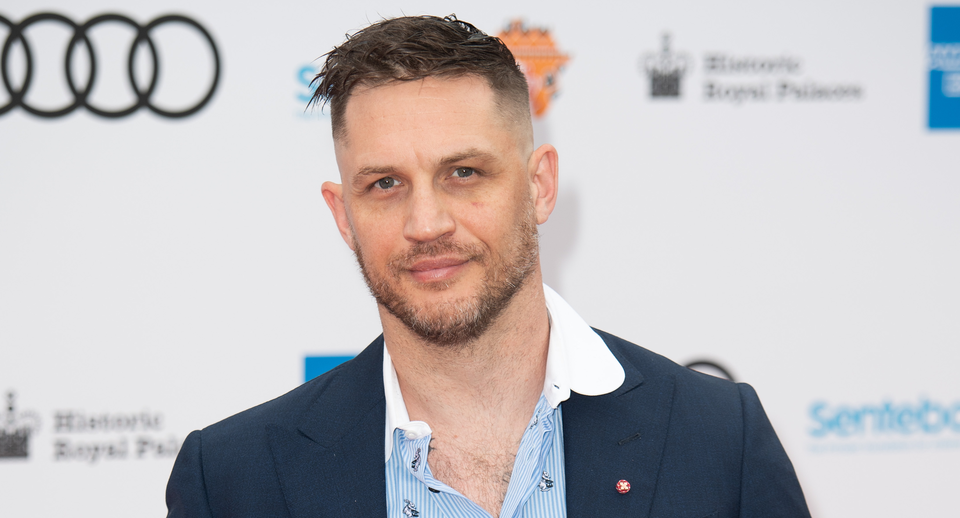 Police called as car crashes into Tom Hardy's London mansion