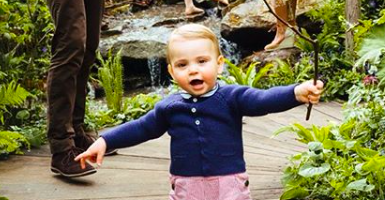 Duchess of Cambridge reveals Prince Louis has started to talk