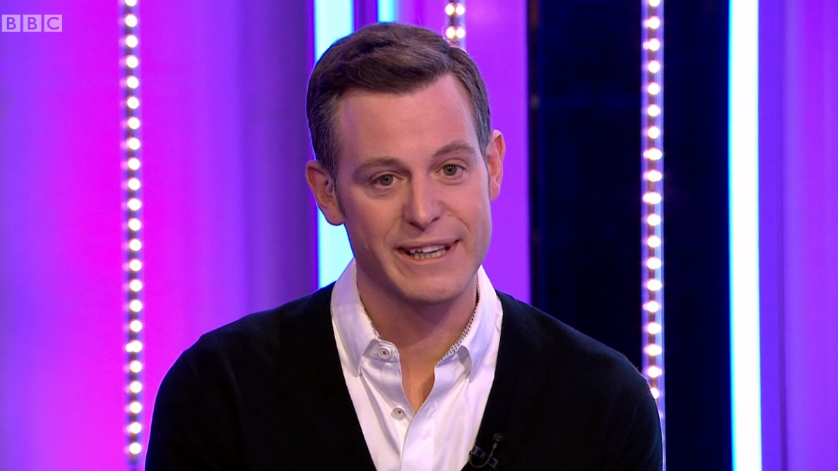 Matt Baker on The One Show