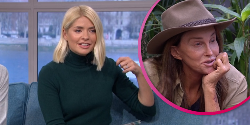 Holly Willoughby hits back at claims Caitlyn Jenner has been given 'special treatment' in I'm A Celeb jungle