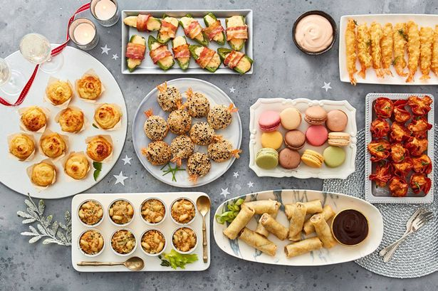 Iceland launches Christmas party food bundle with over 250 pieces for just £15