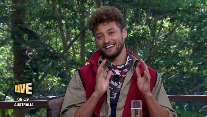 I'm A Celebrity fans in hysterics as over reaction to Myles' exit