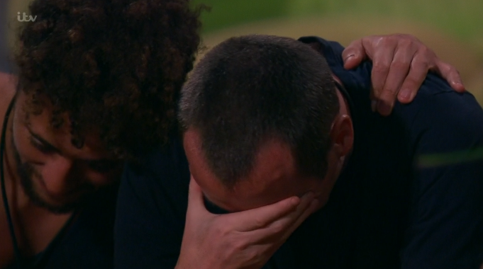 Andy Whyment crying