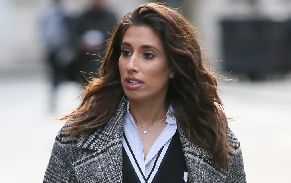 Stacey Solomon breaks down as she recalls 'lowest day' following Rex's birth