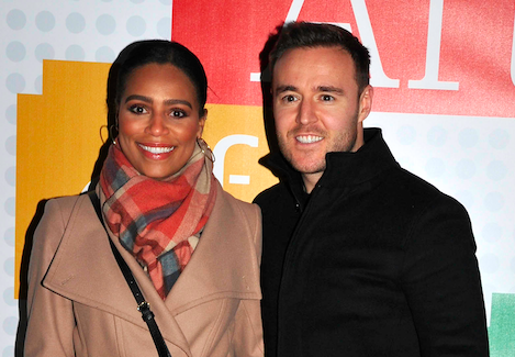 Tisha Merry sparks speculation she's trying for a baby with Alan Halsall