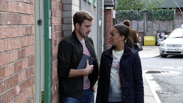 Tisha Merry as Steph Britton in Coronation Street