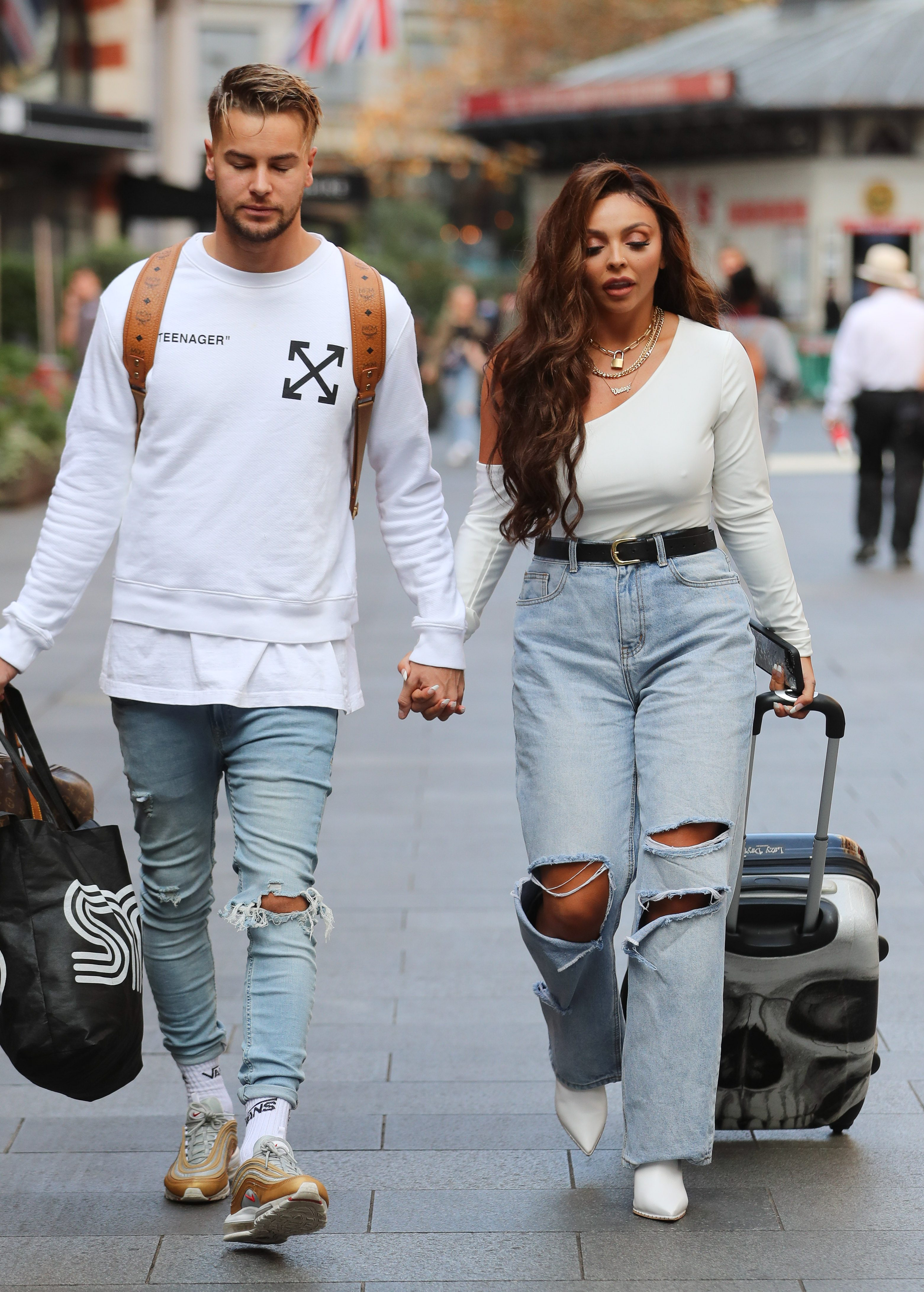Chris Hughes and Jesy Nelson