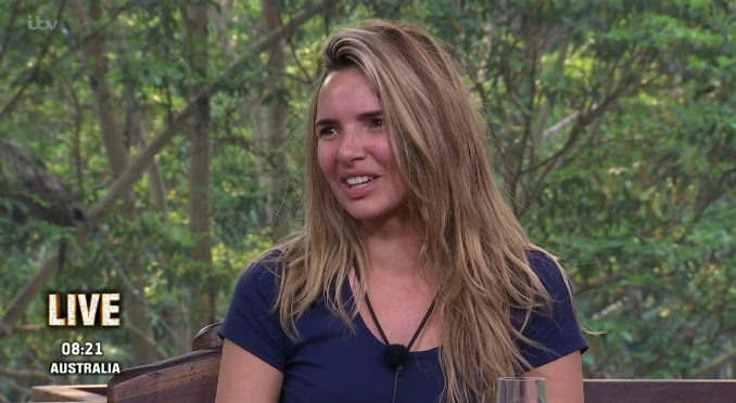 Nadine Coyle in tearful reunion with daughter after jungle exit