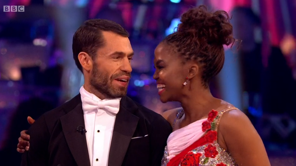 Kelvin Fletcher on Strictly