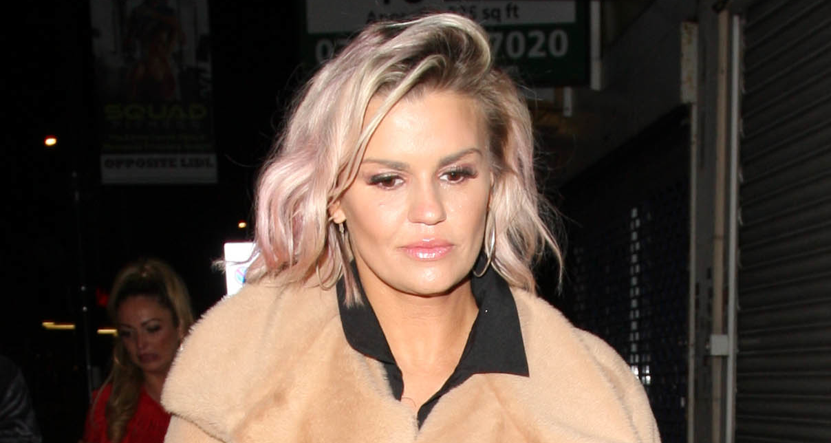 Kerry Katona shows off weight loss in underwear photo