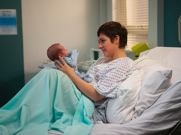 Emmerdale's Isabel Hodgins was terrified of giving birth as Victoria Sugden