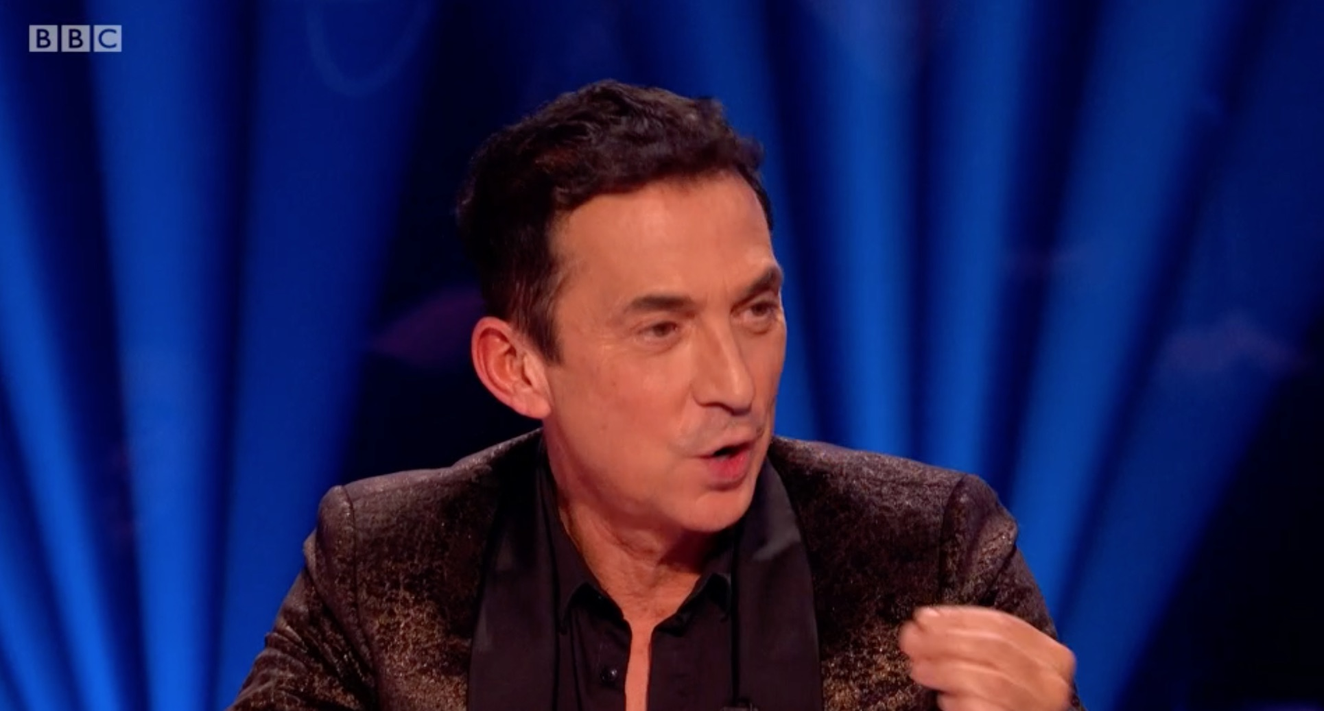 Strictly's Bruno Tonioli 'reshoots' line over fears he would offend the audience