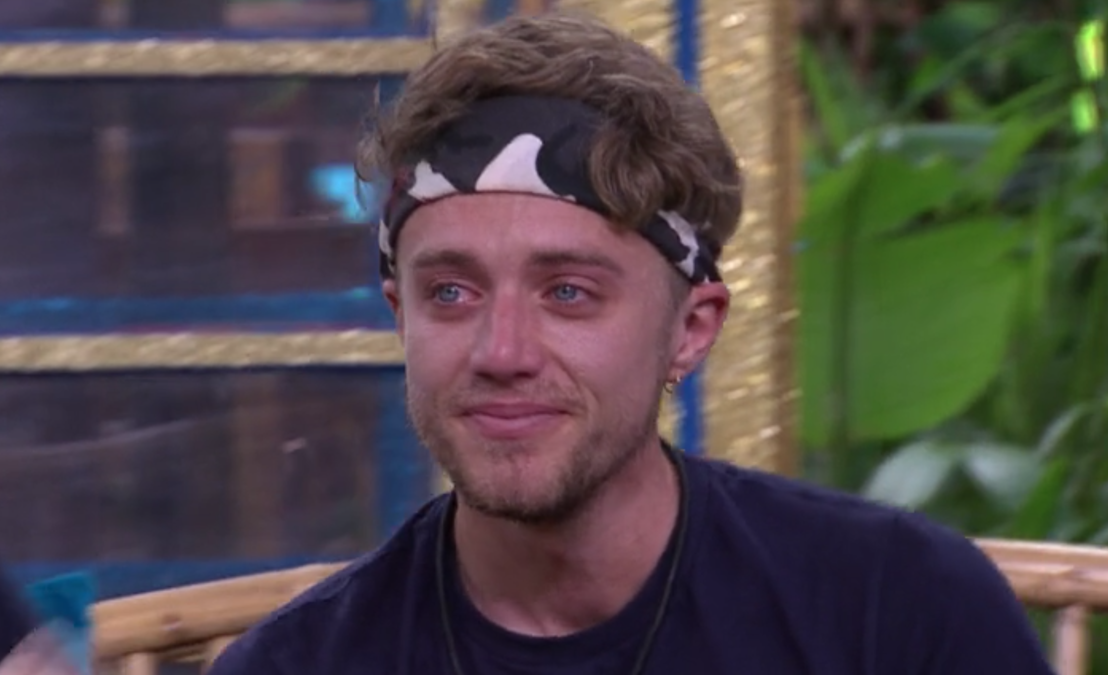 I'm A Celebrity: Roman Kemp breaks down watching message from Mum and Dad