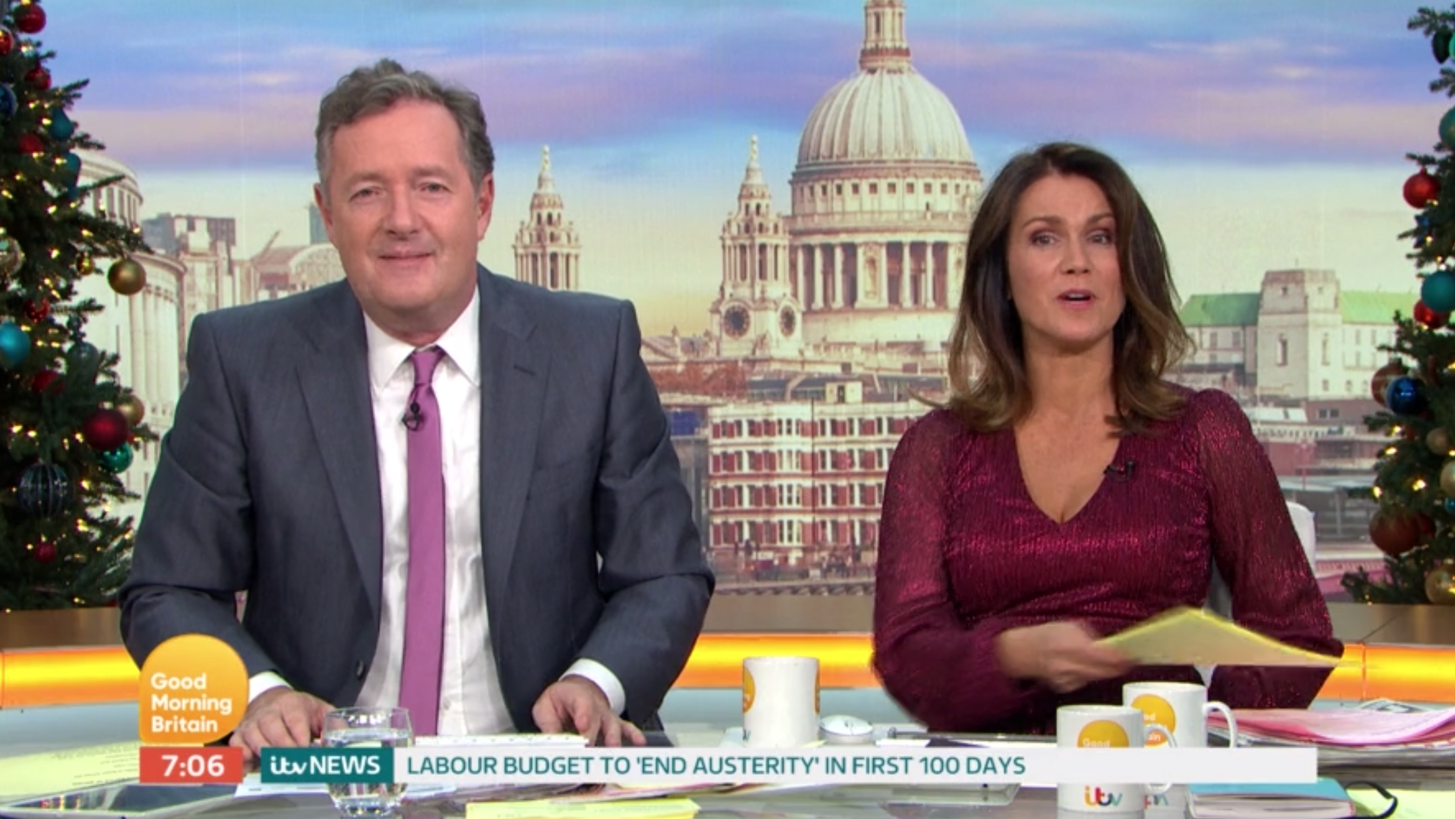 Good Morning Britain 'shake-up' as Piers Morgan works Friday for General Election coverage
