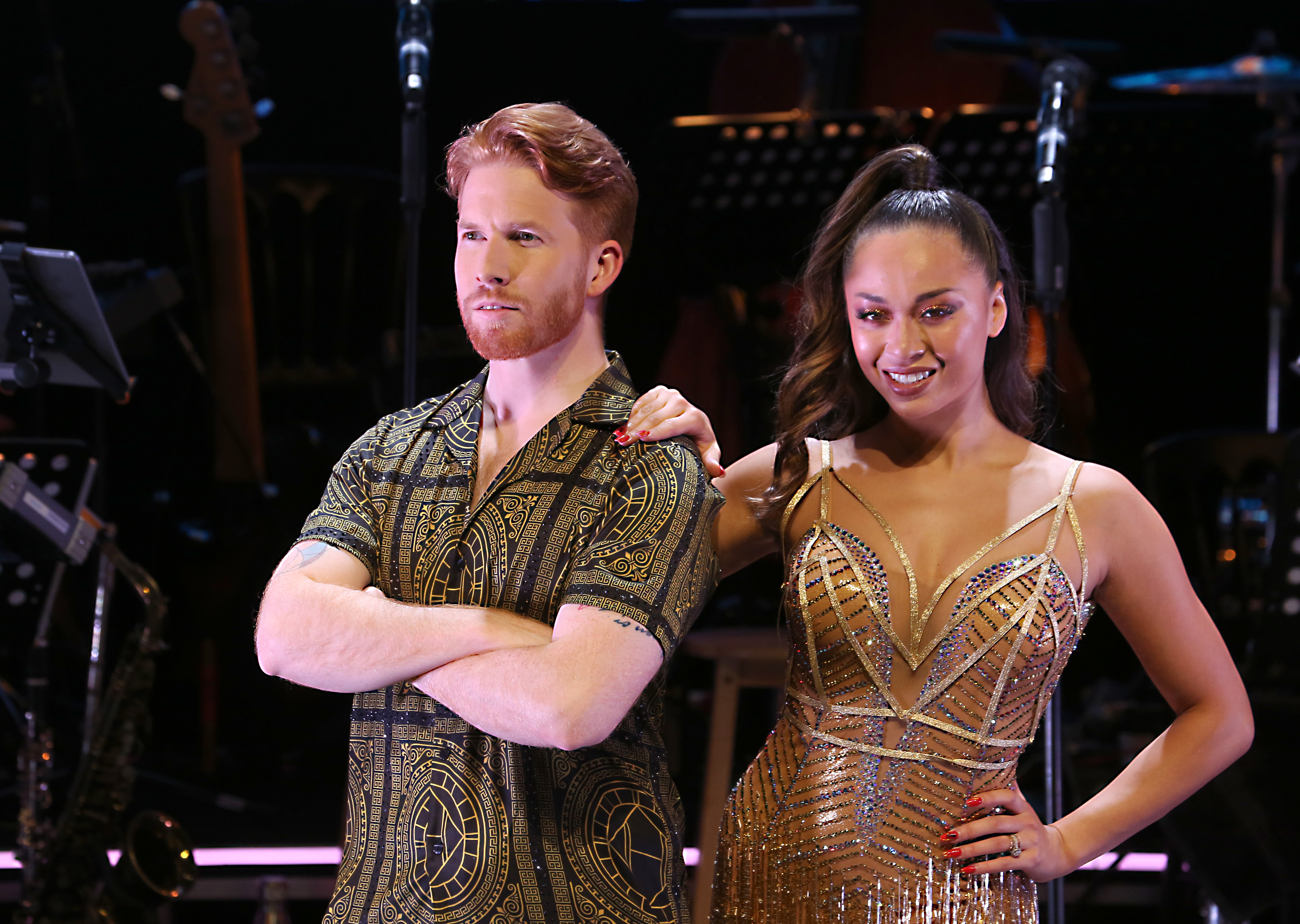 Neil Jones and Katya Jones