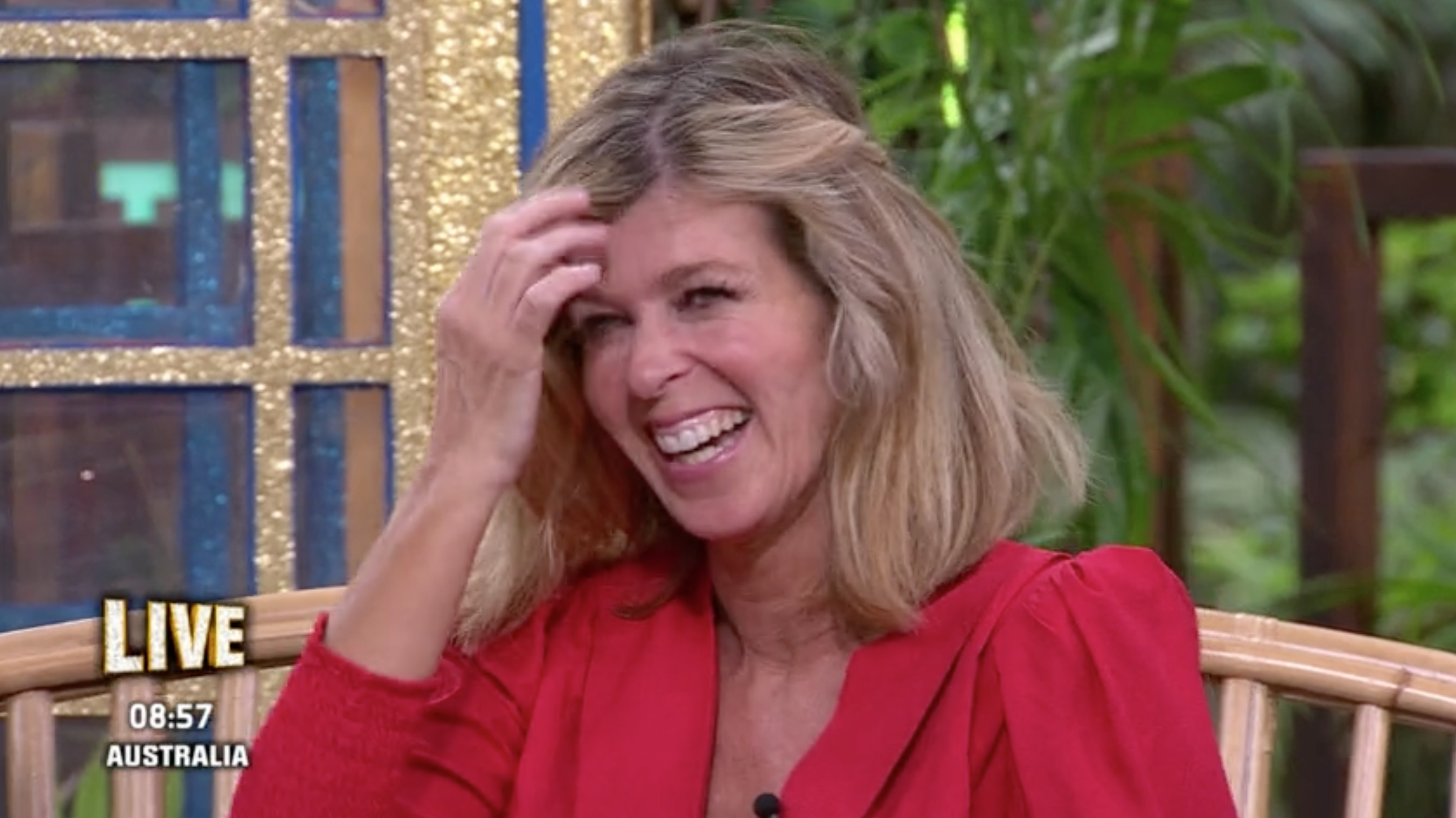 Kate Garraway reveals her 'shock' after losing a stone in just three weeks in the I'm A Celebrity jungle