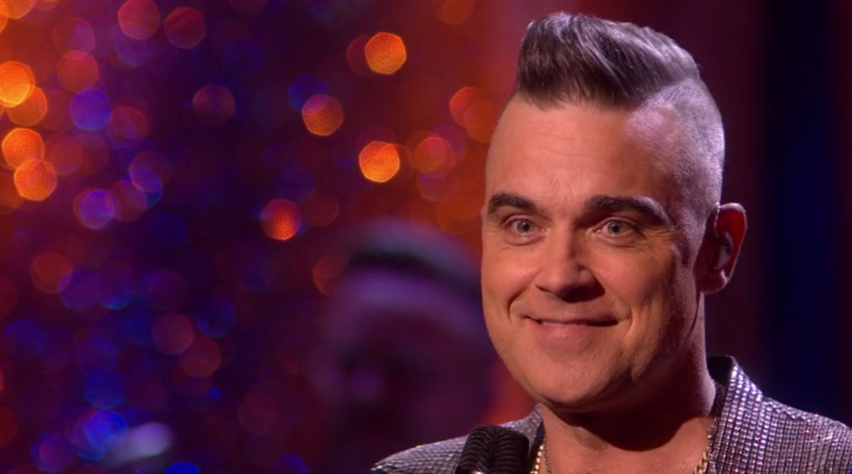 Robbie Williams teases he'd be up for I'm A Celebrity next year