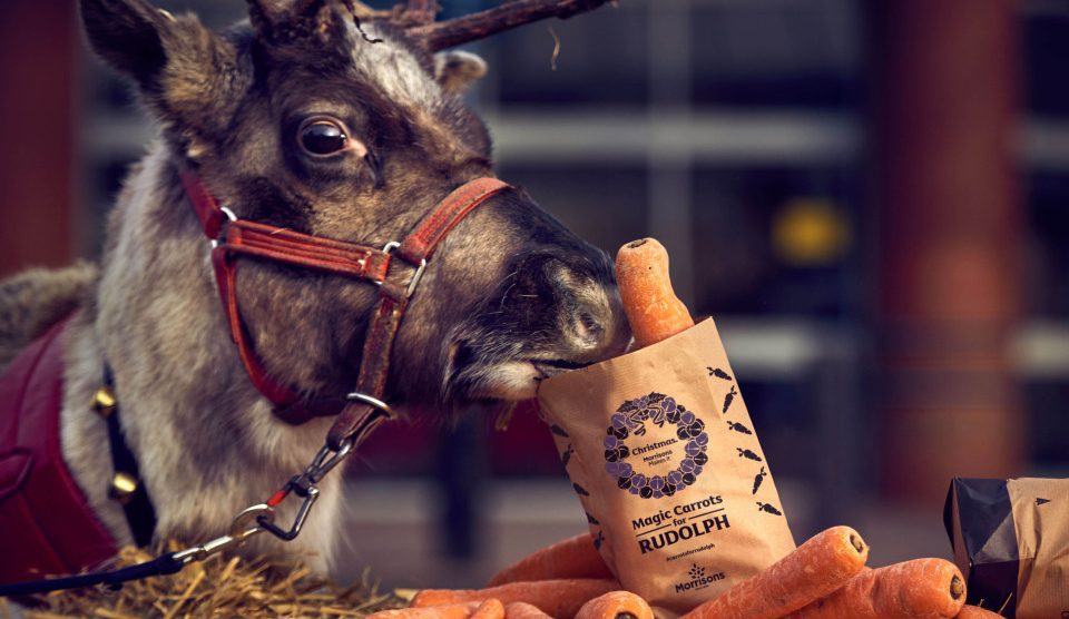 Morrisons is giving away 125,000 free bags of wonky carrots for Rudolph