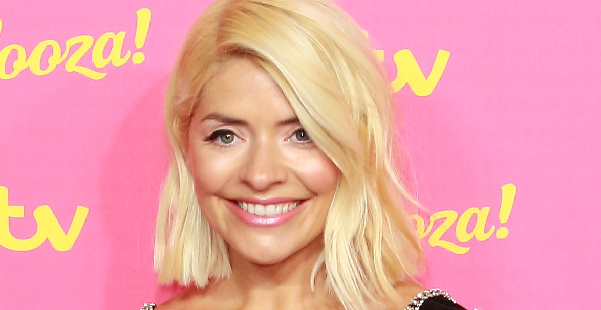 Holly Willoughby stuns in TWO dresses at Dancing On Ice launch