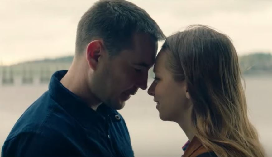 Martin Compston and Molly Windsor
