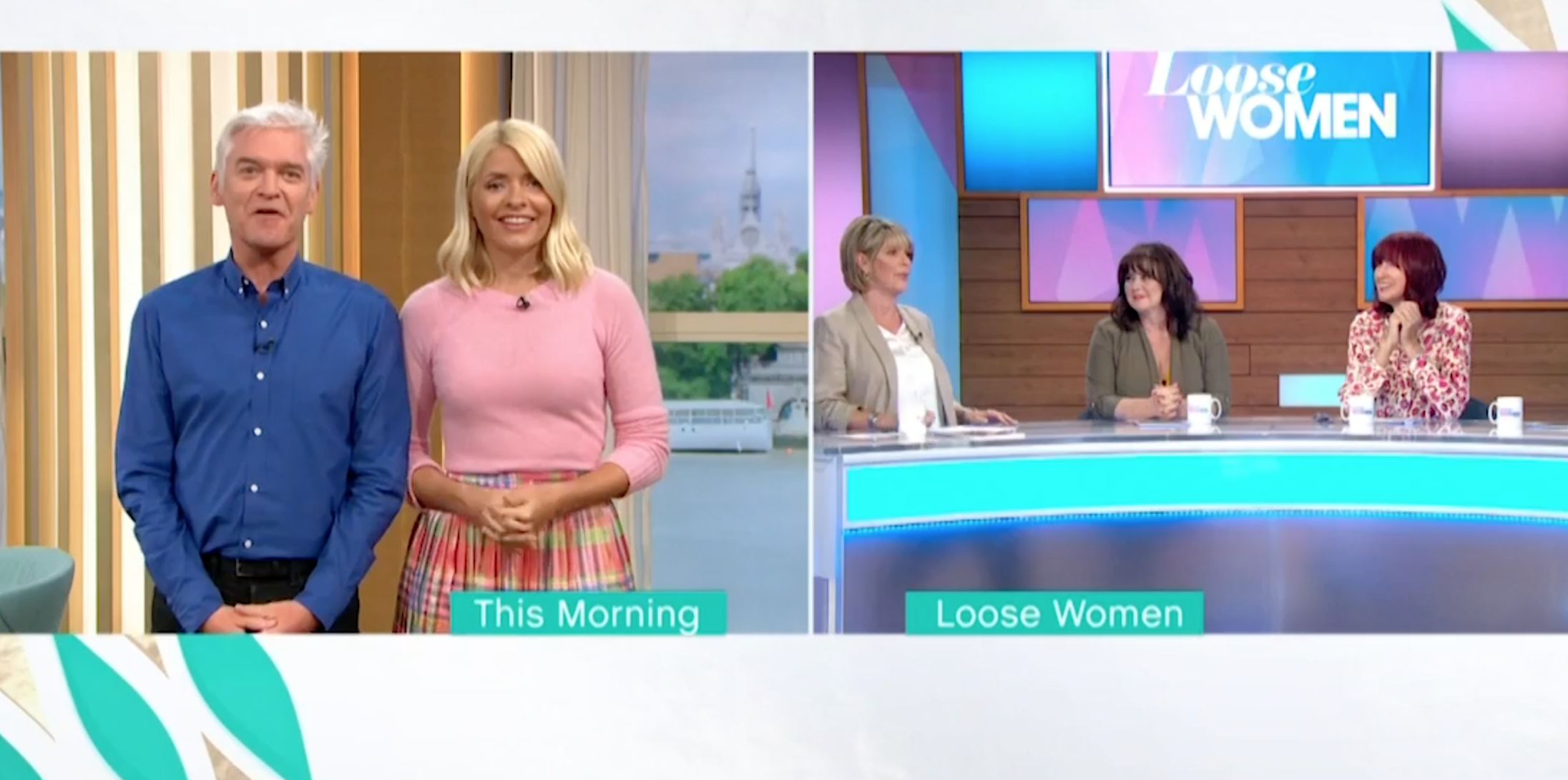 Fans speculate that Ruth Langsford complained after Phillip Schofield interrupted her live on air