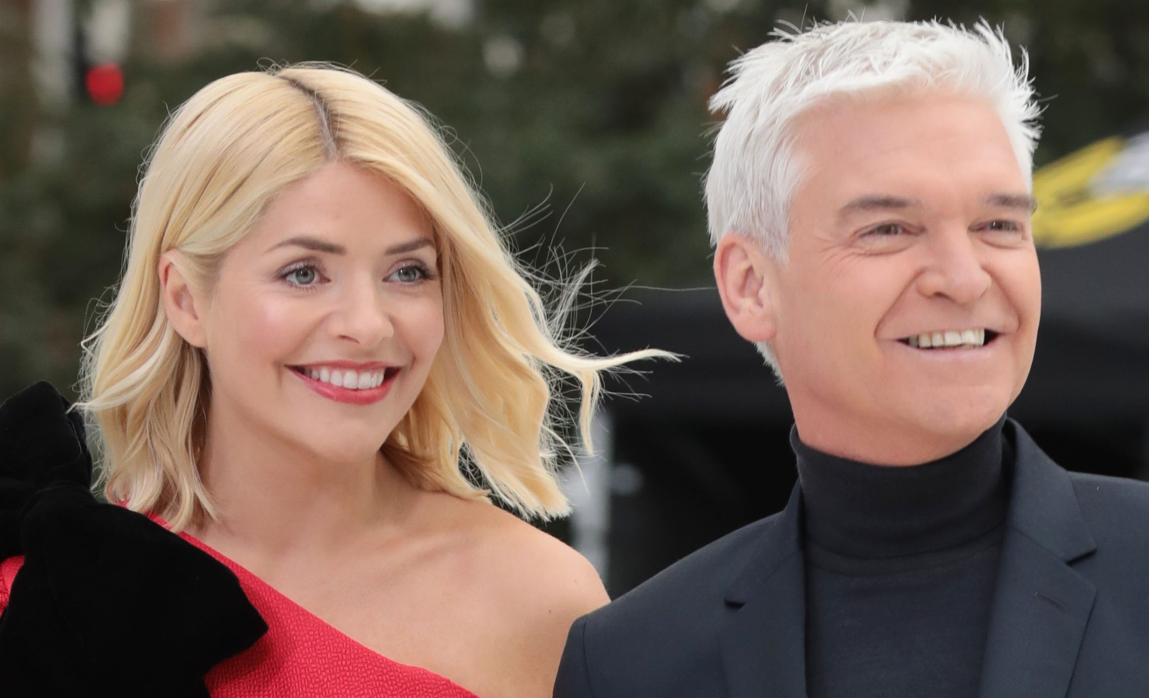 Holly Willoughby hugs Phillip Schofield in heartwarming clip from Dancing On Ice Christmas special