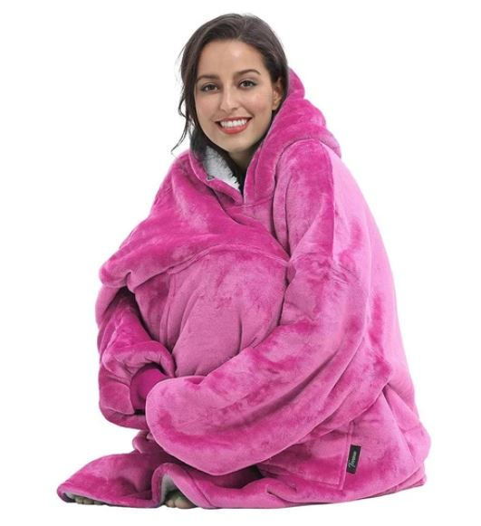Hoodie Blanket from The Cosey