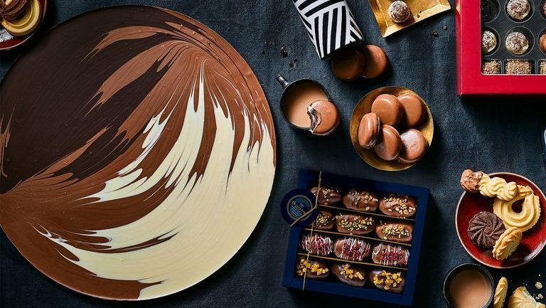 M&S launches its biggest-ever chocolate button weighing 1kg and measuring almost half a metre in size