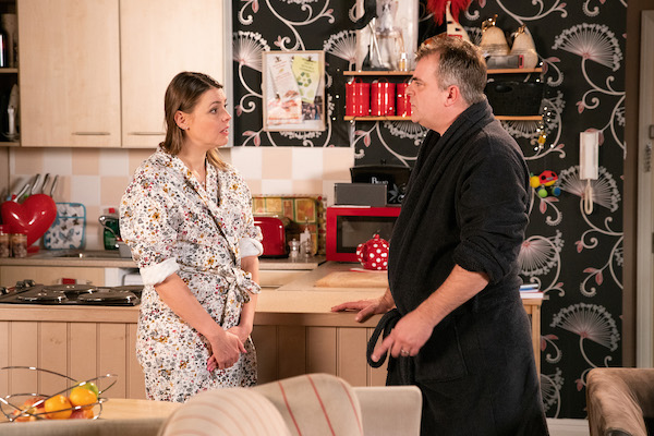 Coronation Street SPOILERS: Steve finds out about Tracy's fling