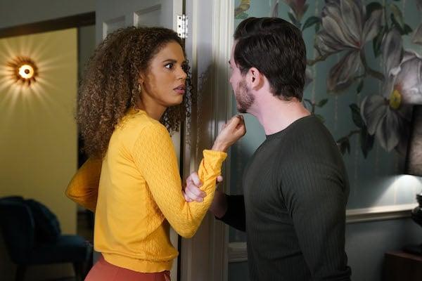 EastEnders SPOILERS: Gray's jealousy leaves Chantelle in danger