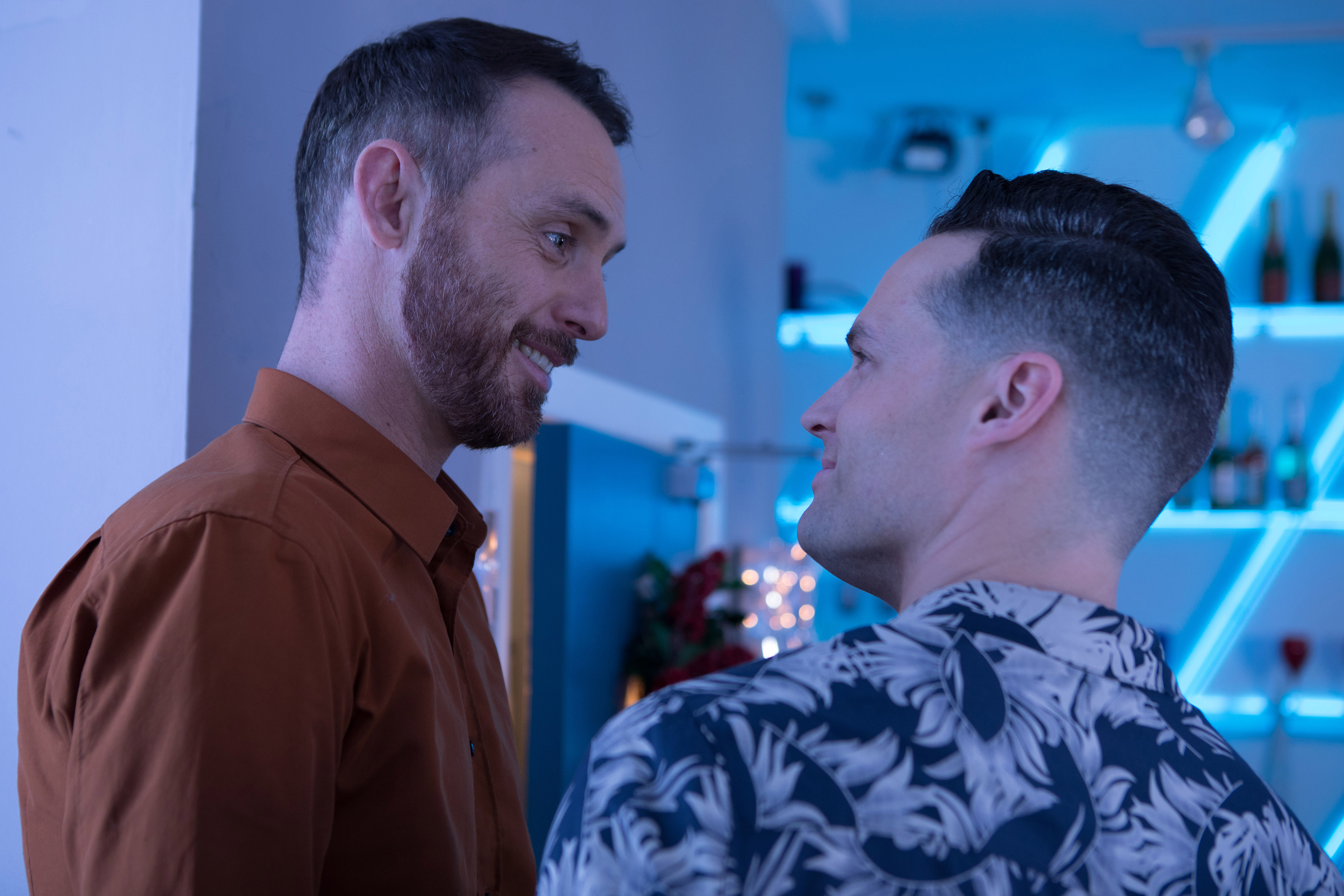 Hollyoaks James and Liam Credit: Lime Pictures