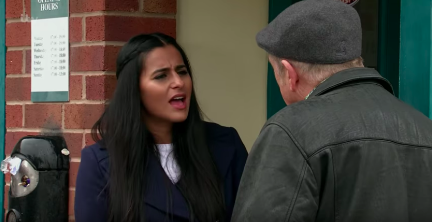 Coronation Street fans beg Alya to 'rescue Yasmeen from creep' Geoff