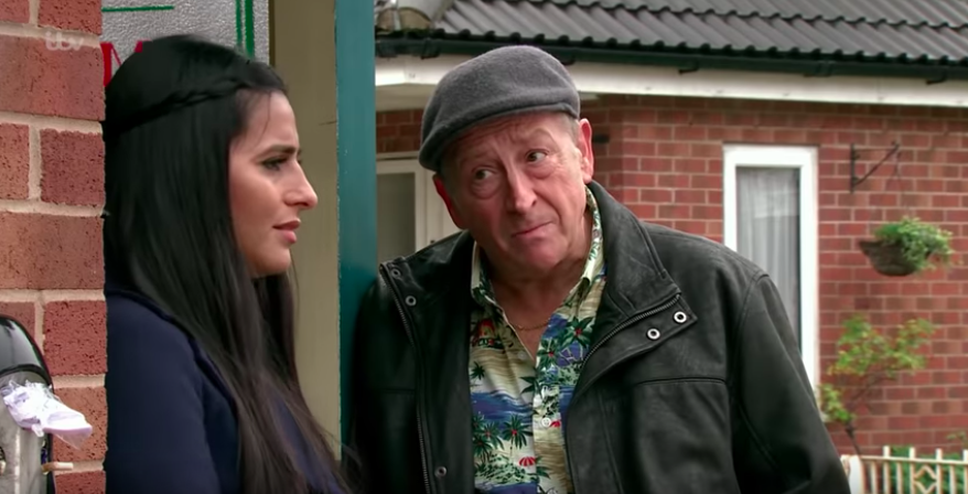 Coronation Street viewers furious as Geoff begins targeting Alya