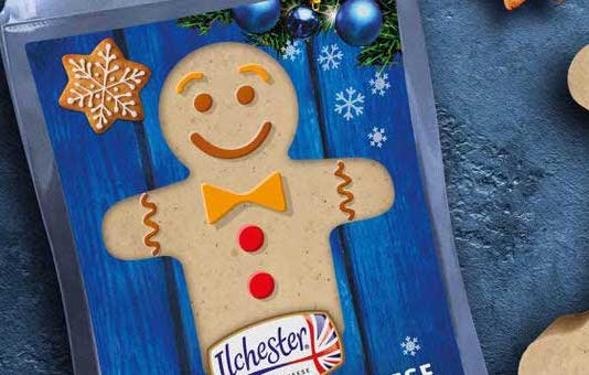 Sainsbury's is selling gingerbread cheese in time for Christmas